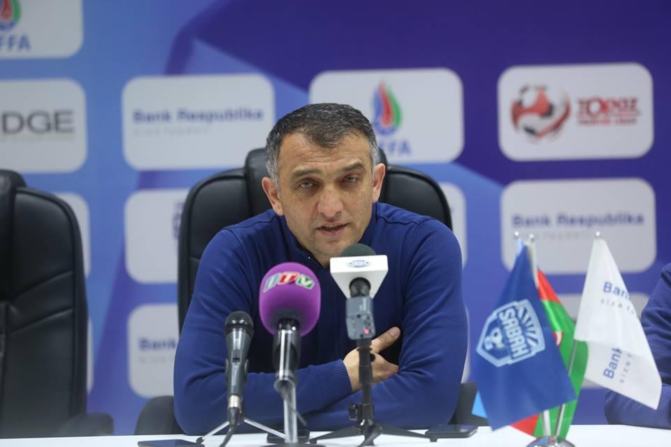"""Elşad Əhmədov: """"Futbolçularımda əzmkarlığı gördüm""""."""