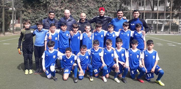 Saşa və Rəşaddan azyaşlı futbolçularımıza dəstək