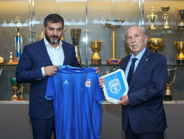 An agreement was signed between «Sabah» FC and «Dinamo» FC academies