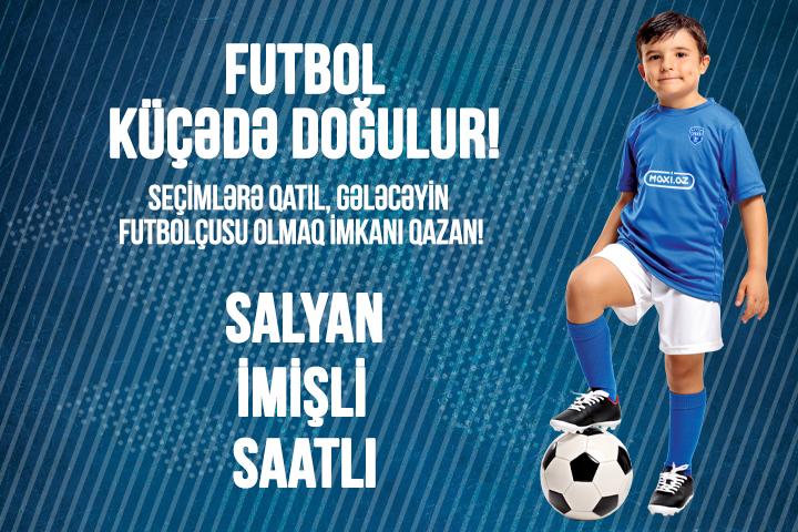 """""""Sabah"""" Futbol Akademiyasına seçimlər başlayır!"""