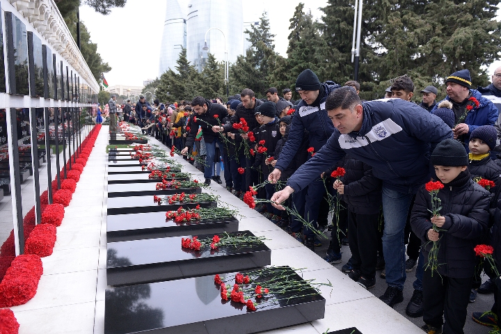 The memory of 20 January martyrs was commemorated