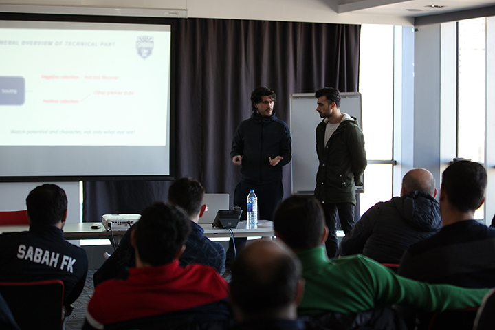 The management of the Academy met with the coaches