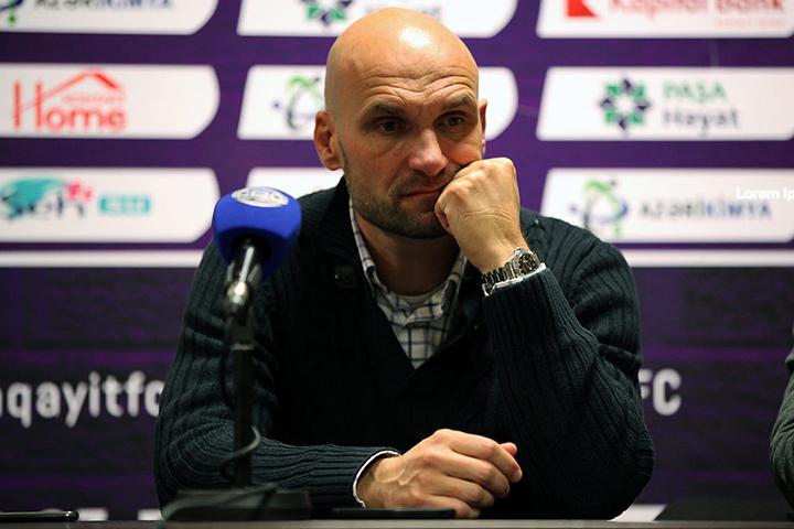 """Jelko Sopiç: """"Ən yaxşı oyunlarımızdan birini keçirdik"""""""