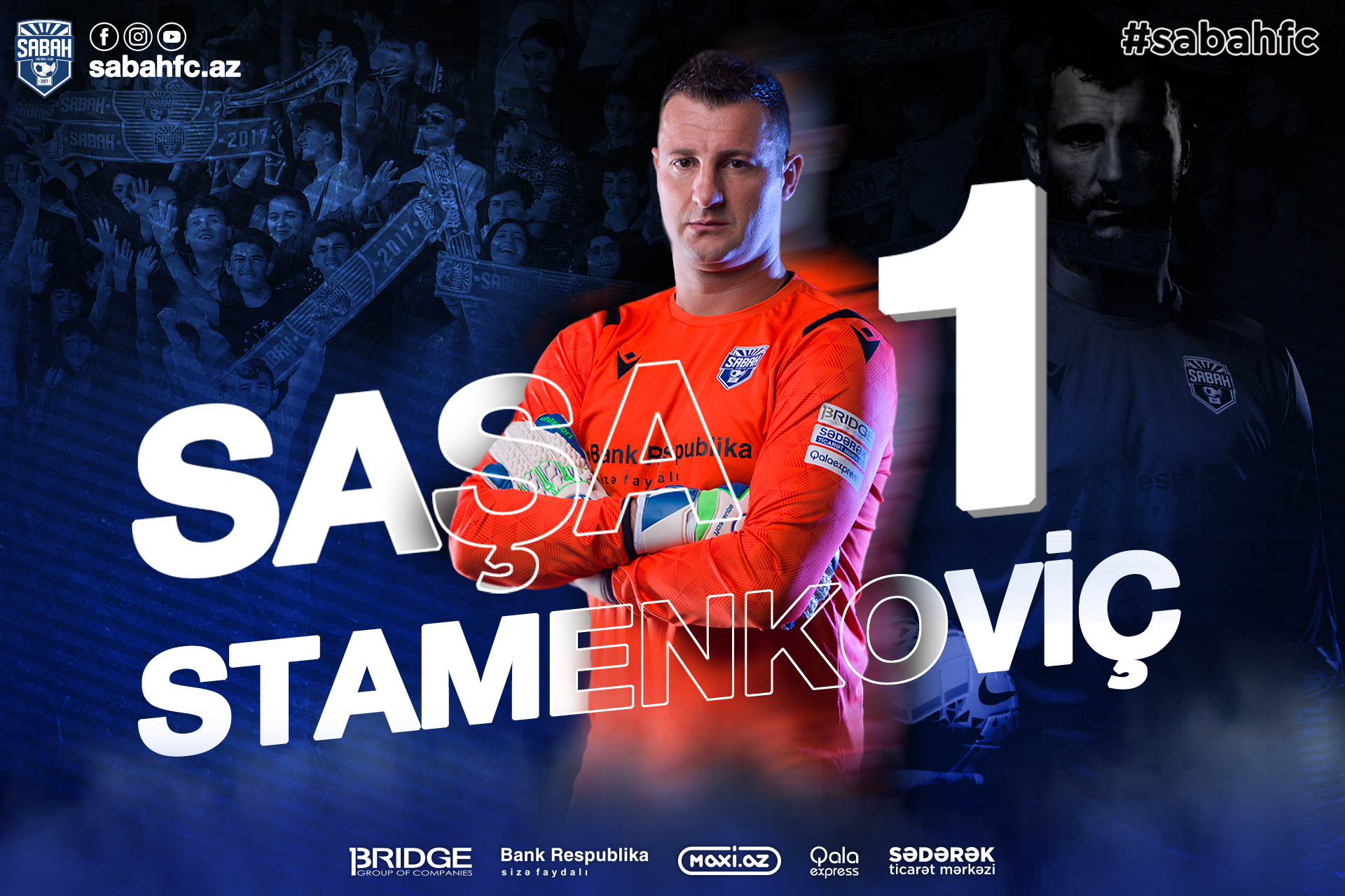 We extended contract with Sasa Stamenkovic!