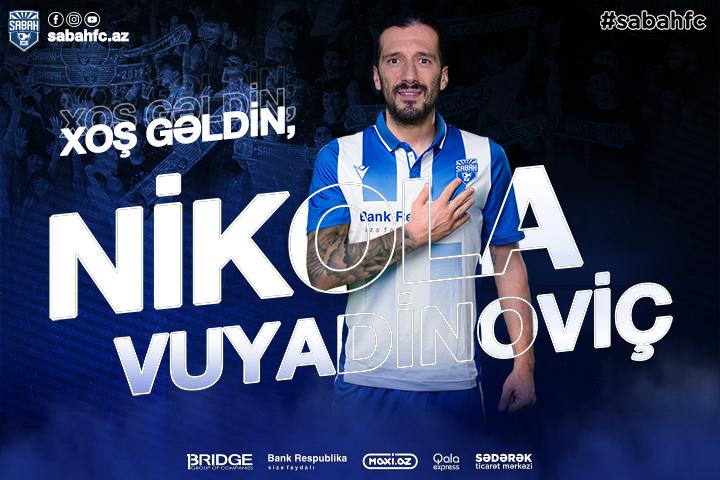 New defender in the Sabah FC – Nikola Vujadinovic!