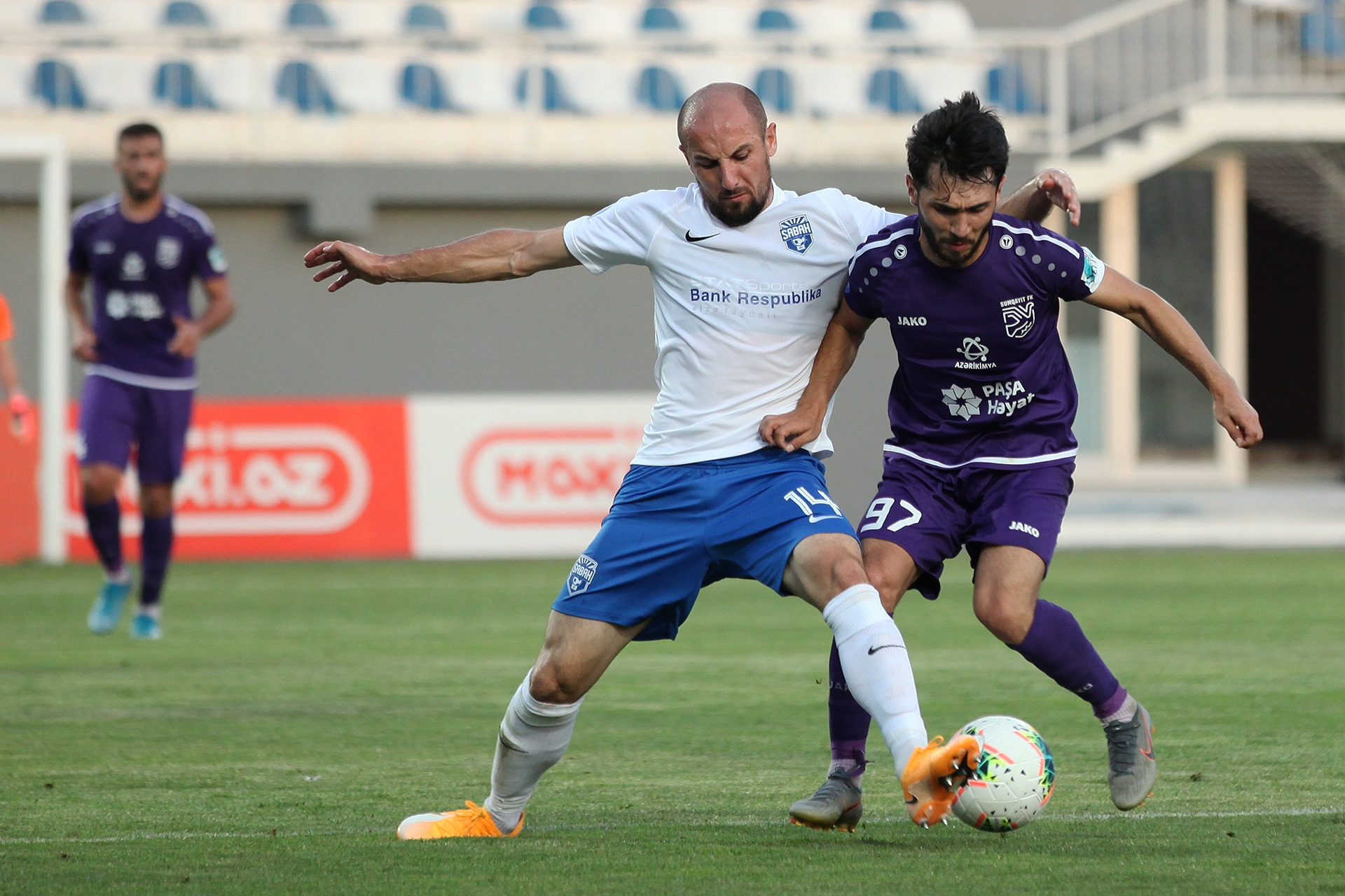 Sabah FC played against Sumgayit FC