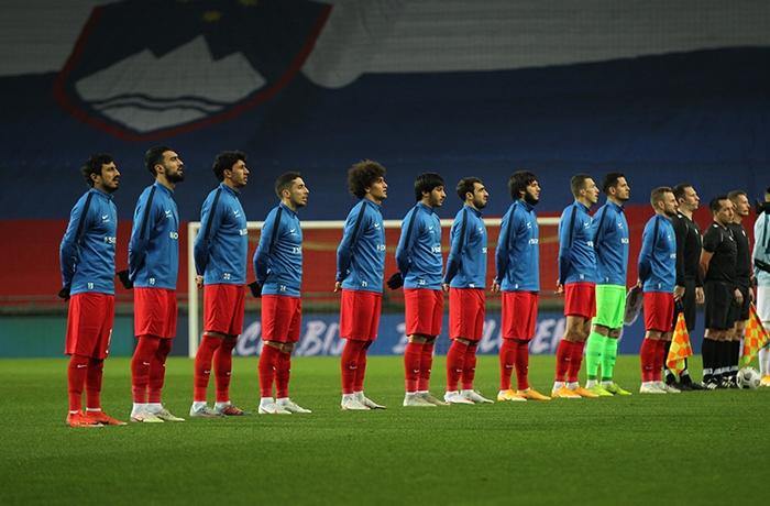Tamkin and Amin played against Slovenia national team