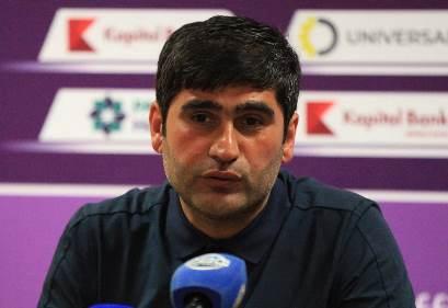 """Ramin Quliyev: """"İtkilərə rəğmən 3 xal qazanmağı bacardıq"""""""
