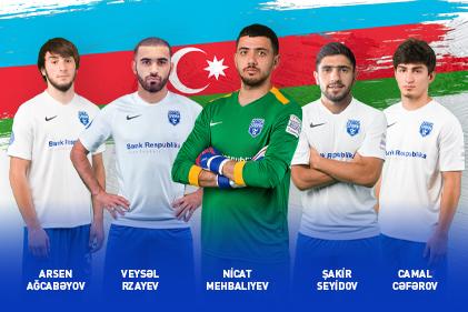 5 futbolçumuz Ukrayna millisi ilə matçda şans qazandı