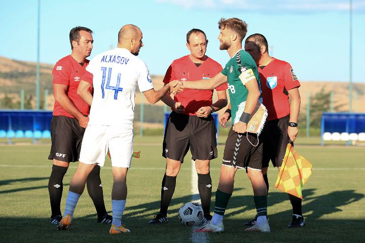 Sabah FC played its next match in the training camp in Tbilisi