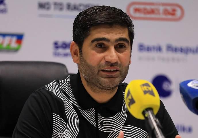 """Ramin Quliyev: """"Futbolçularımın oyuna yanaşmasından və göstərdiyimiz futboldan razı qaldım"""""""