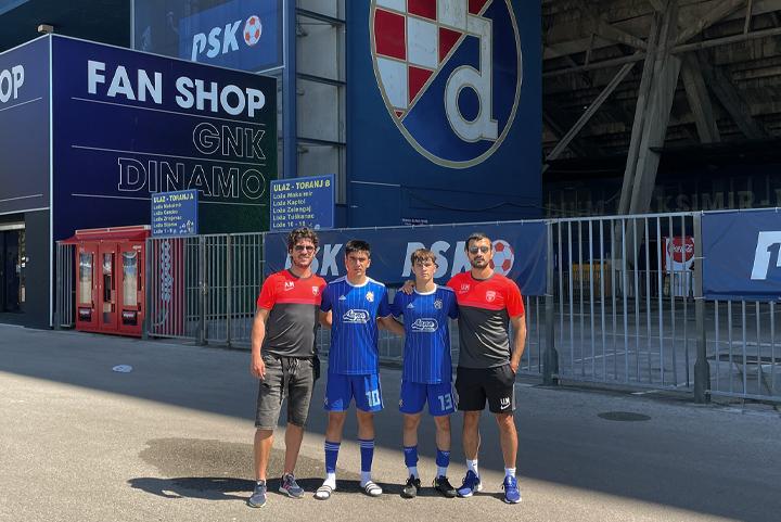 "2 futbolçumuz ""Dinamo"" Futbol Akademiyasında"